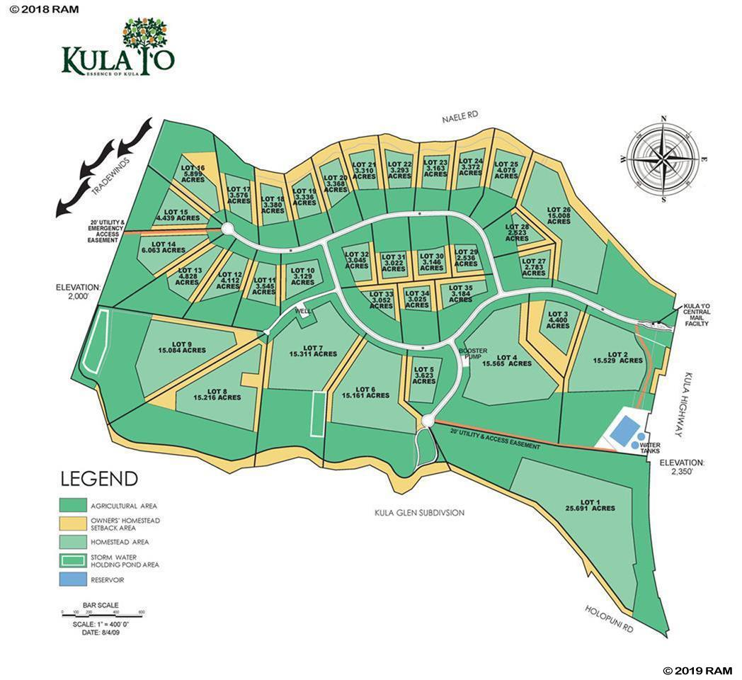 240 Kula Io Rd  Lot #Lot #34 in Lower Kula