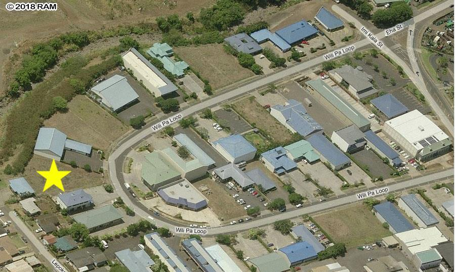 Industrial Property Located  in Wailuku