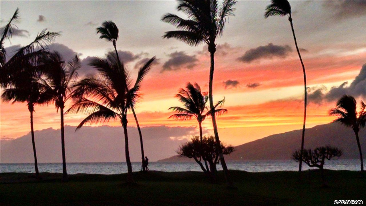Maui Sunset #B407 in Kalepolepo
